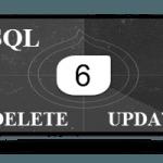 6 Видео Урок, команды DELETE и UPDATE, удалять и обновлять записи, языка SQL