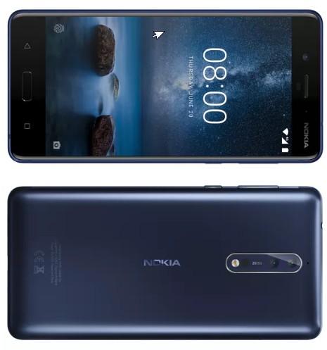телефона Android под брендом Nokia 8