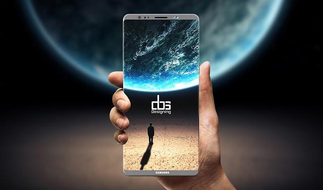 анонс Galaxy Note 8 концепция dbs