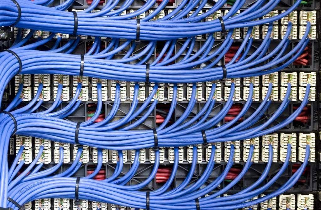 Виды сетевых кабелей