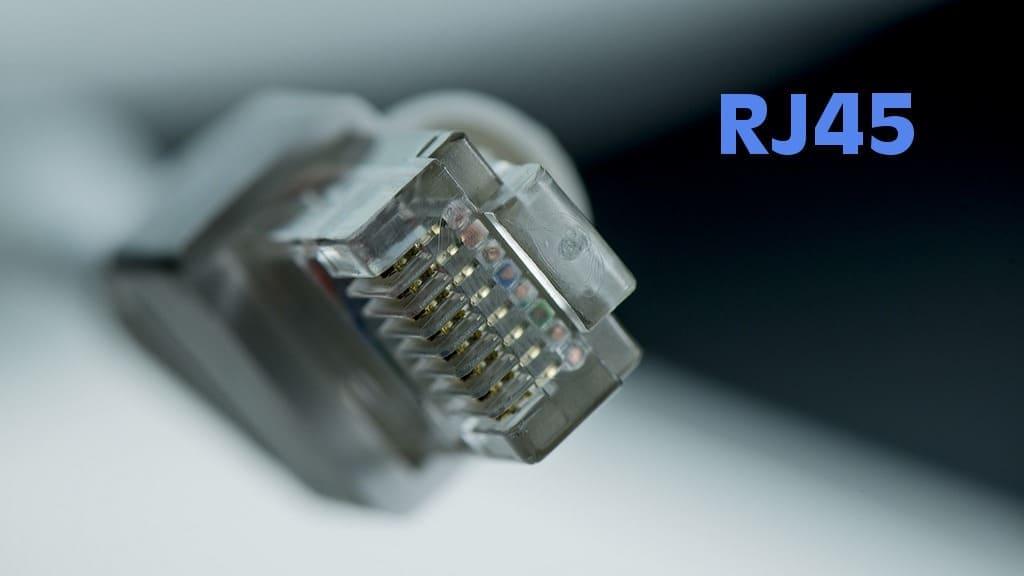 разъем RJ45